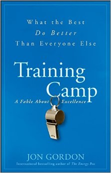 Training Camp by Jon Gordon