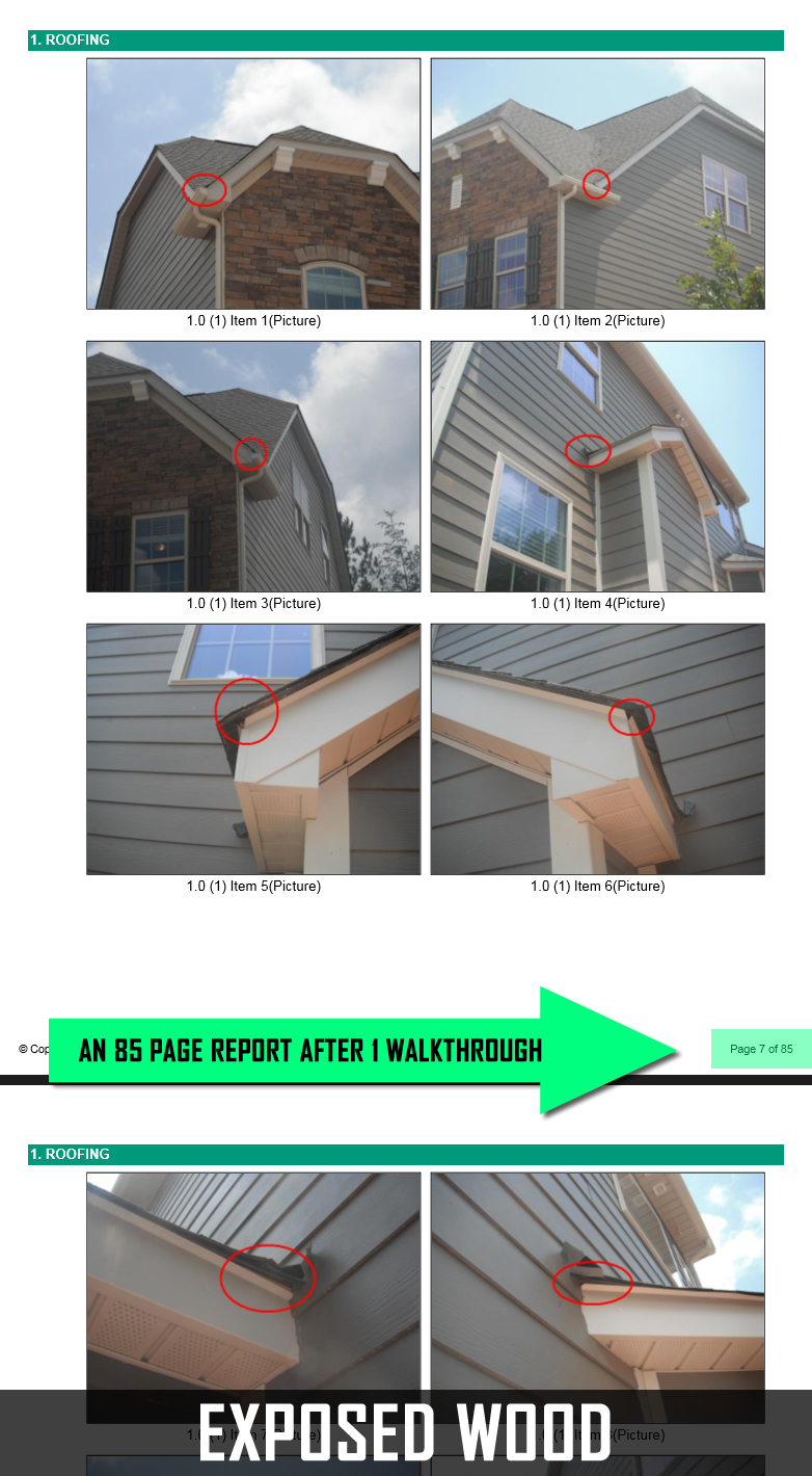 Home Inspector's Report of a Problematic Lennar Home in South Charlotte