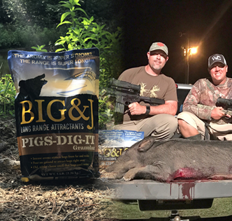 Big & J Hog Hammer & Pigs Dig It Helps Get Rid of Nuisance South Carolina Hogs