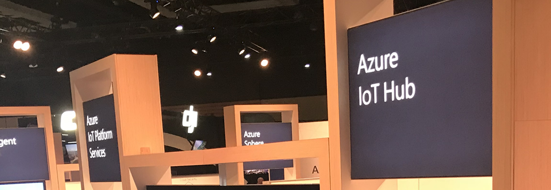 Azure signs at Microsoft Build 2018