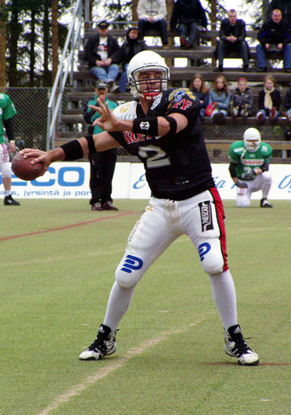 Me Qb'ing in the first game of the season