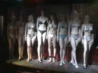 The lineup at the bikini contest