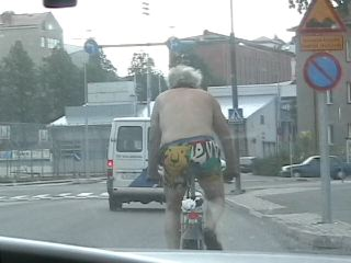 Saw this guy riding down the street this week